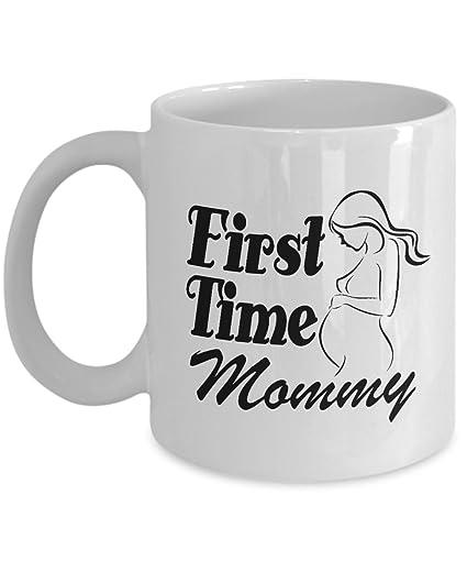 First Time Mom Coffee Mug 11 OZ