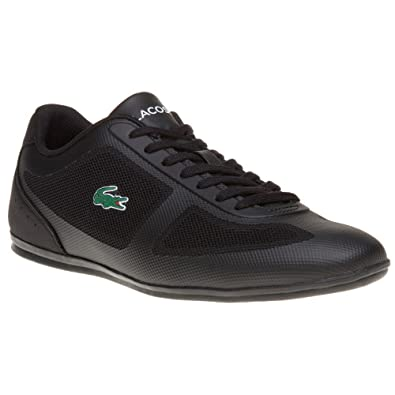 0cc16facdef7 Lacoste Misano Evo 316 1 Homme Baskets Mode Noir: Amazon.fr ...