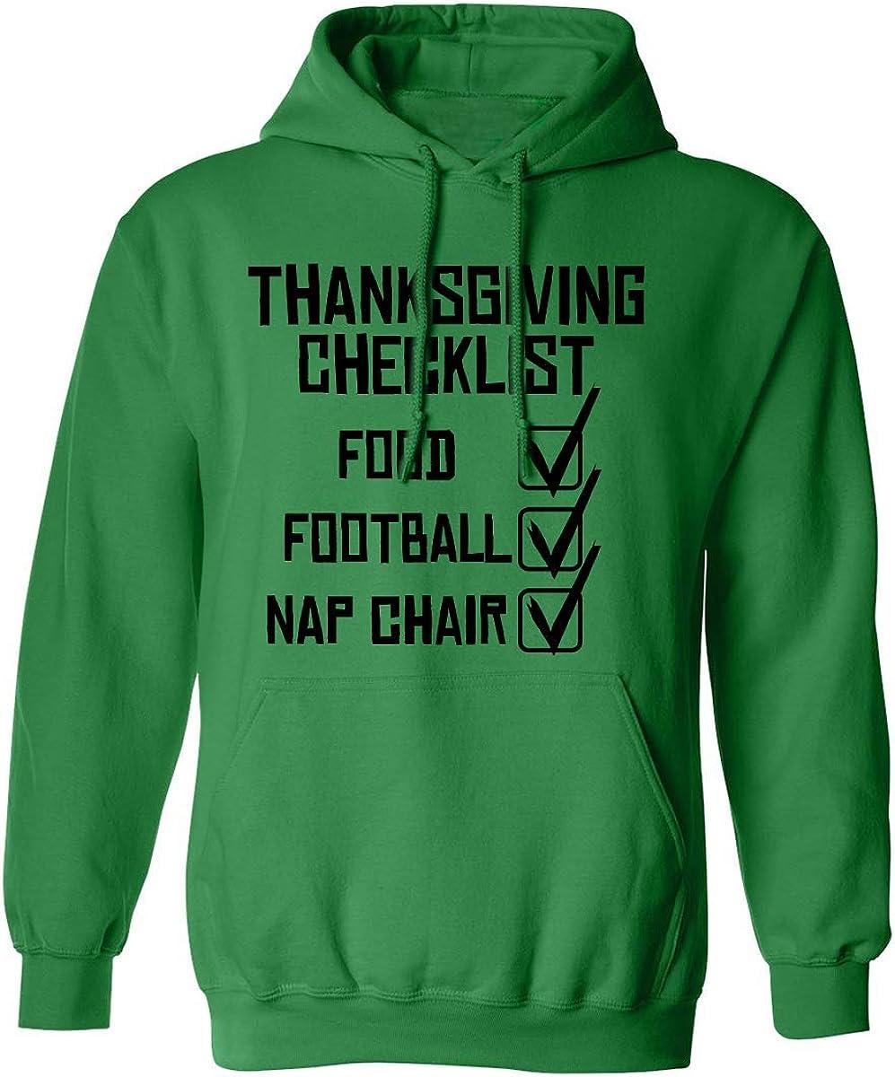 ZeroGravitee Thanksgiving Checklist Adult Hooded Sweatshirt