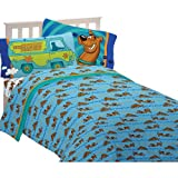 Warner Bros Scooby Doo A Scooby Mystery Twin Sheet Set