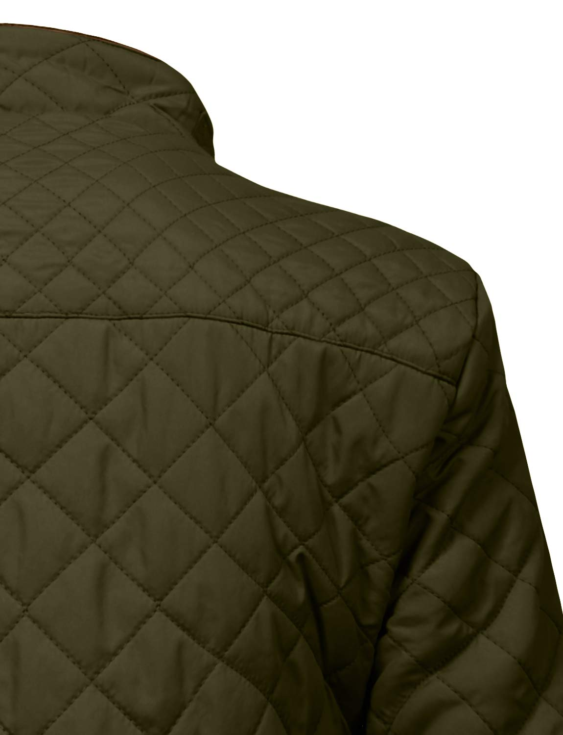 J. LOVNY Womens Lightweight Quilted Warm Zip Jacket/Vest with Pocket Details by J. LOVNY (Image #6)