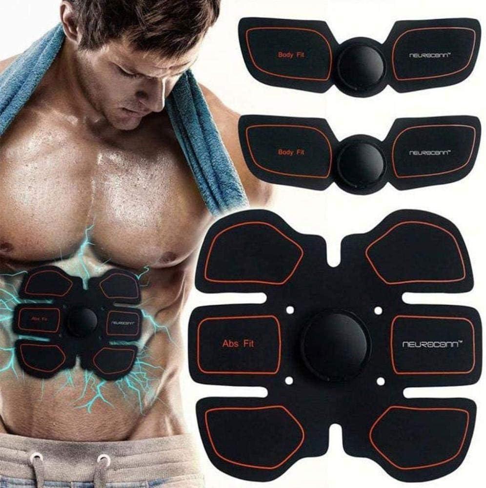 Ejercicio Fitness Estimuladores eléctricos Instrumento de Fitness Inteligente Abdomen Pegatinas Equipo de Fitness Muscular Uptodate