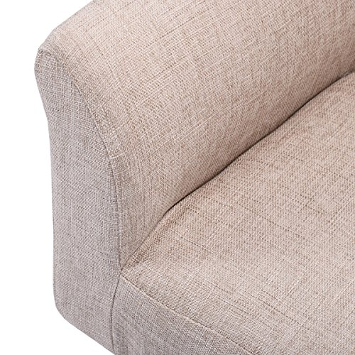 Beige Living Room Chair Leisure Couch Seat for Lounging by FDInspiration (Image #4)