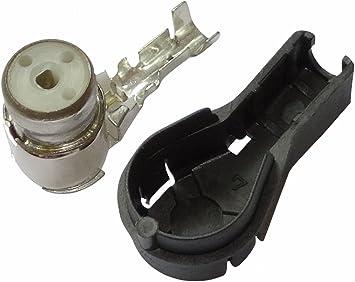 AERZETIX: Conector Hembra Codo ISO de engastar para Antena autoradio Cable RG174 - C11983