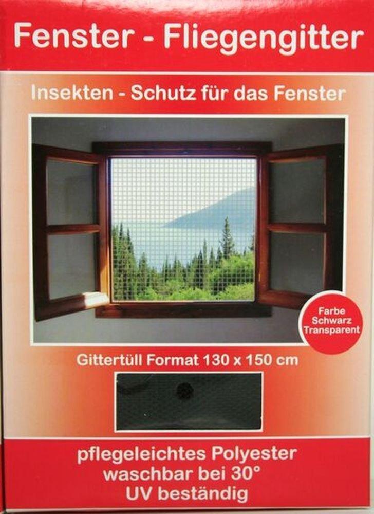 Fenster Fliegengitter / Moskitonetz mit Klettband: Amazon.de: Garten