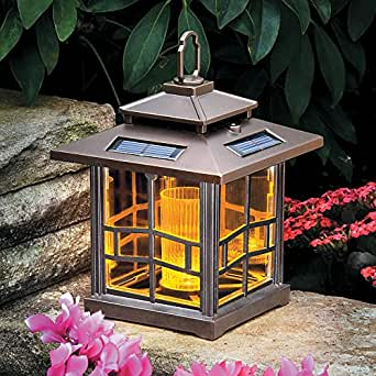 Mission Style Solar Lantern Improvements Amazon Com