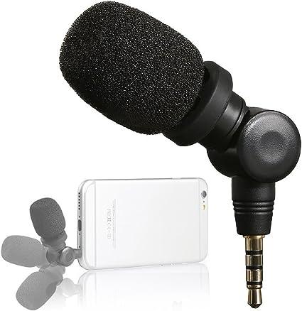 Saramonic iMic - Micrófono para Apple iPhone, Color Negro: Amazon ...