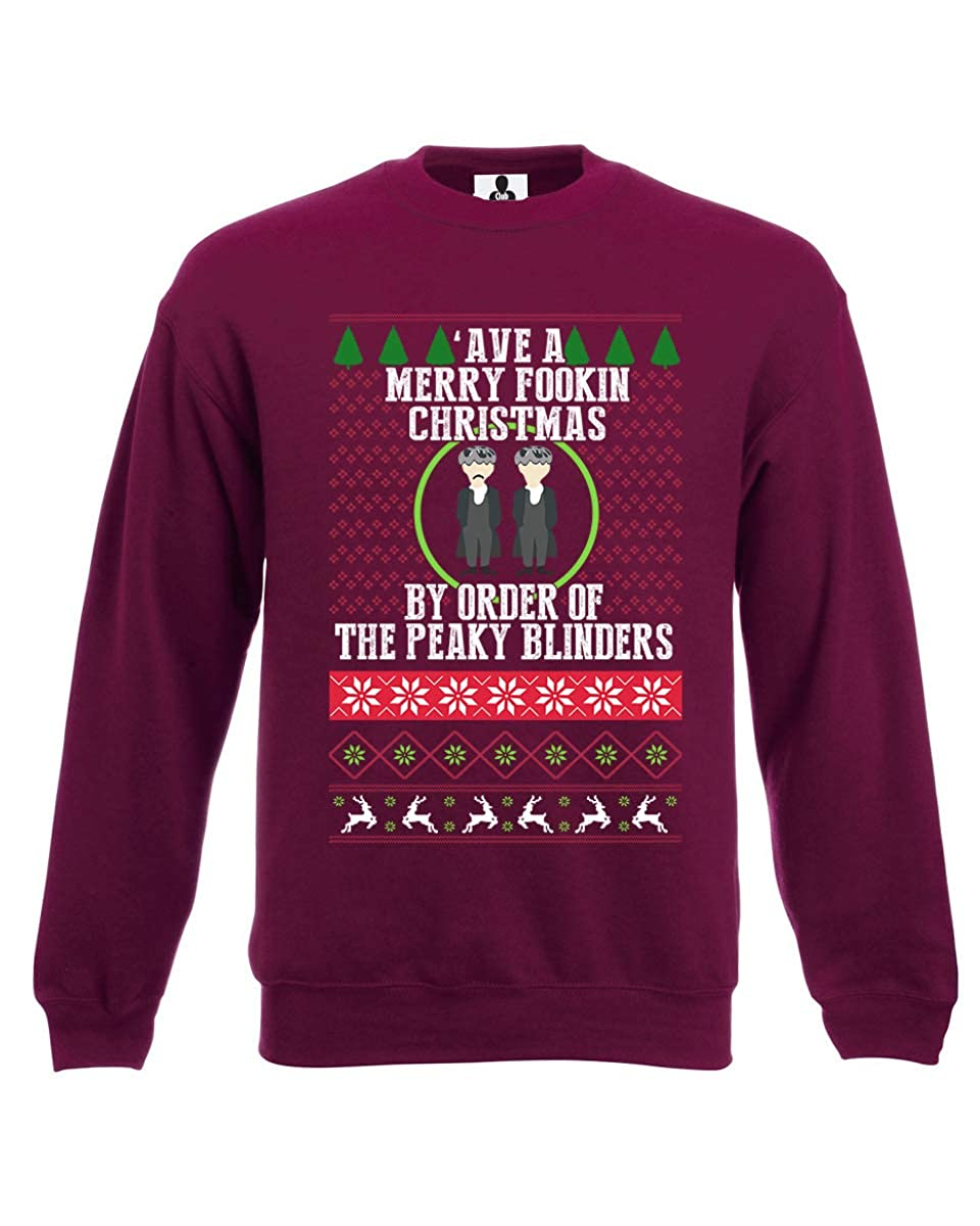 Ave A Merry Christmas by Order of The Peaky Blinders Jumper Sweatshirt Funny
