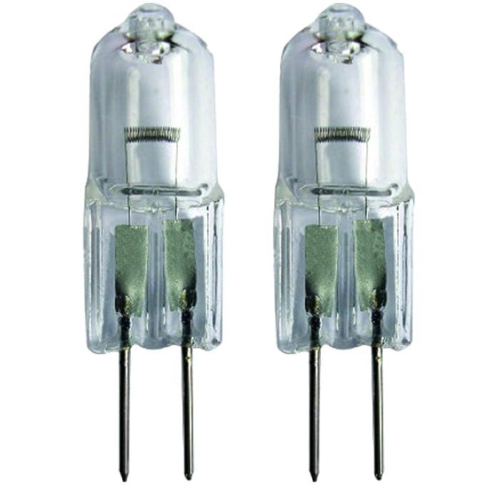 Spares2go G4 - Lámpara halógena de cápsula para horno microondas ...