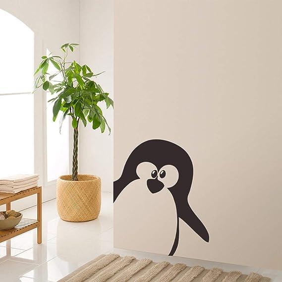YWLINK Pegatinas Linda De Pared De PingüIno ExtraíBle ...
