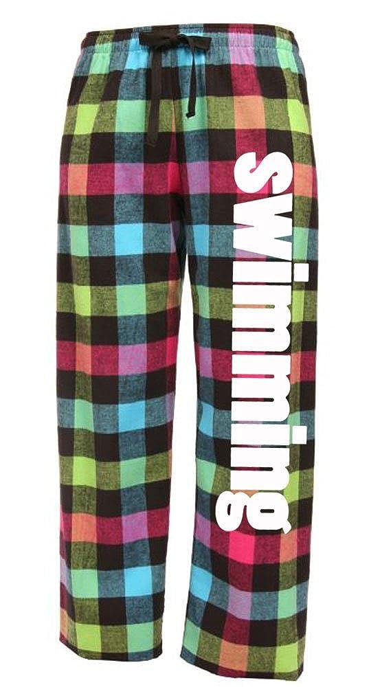 Image Sport Swimming Drawstring Flannel Pants