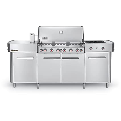 Charmant 291001 Summit Stainless Steel Grill Center LP