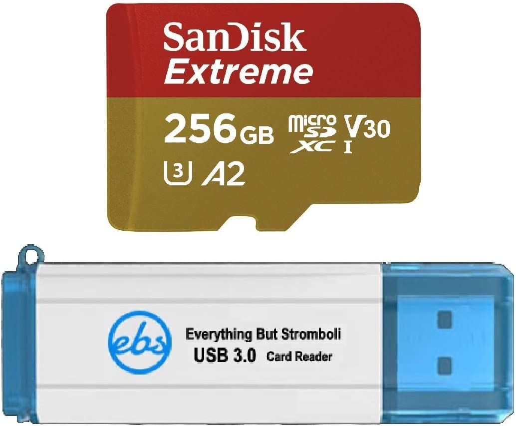 Sandisk 256gb Sdxc Micro Extreme Memory Card Works With Computer Zubehör
