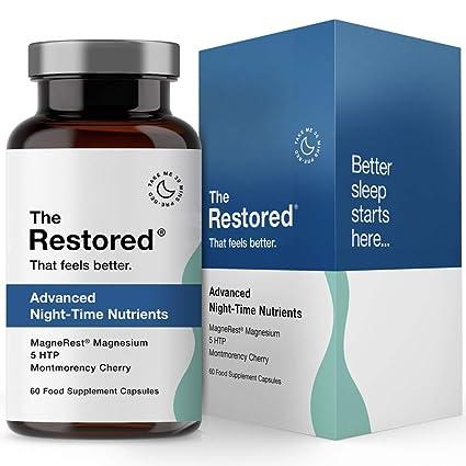 5-HTP, magnesio, cereza Montmorency, melatonina natural para ...