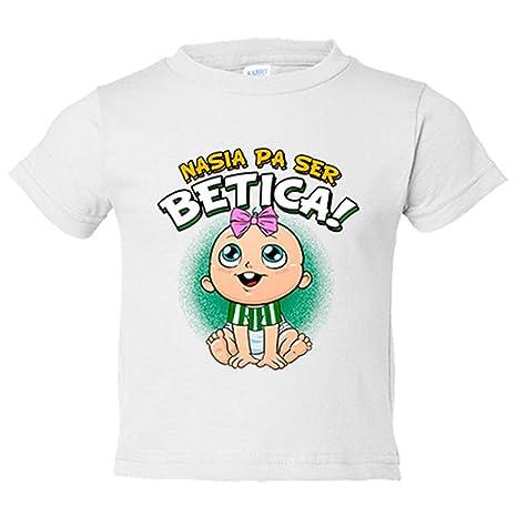 Camiseta niño nacida para ser Bética Betis fútbol - Blanco, 3-4 años