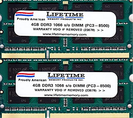 "8GB 2X 4GB RAM MEMORY FOR APPLE MACBOOK PRO 13/"" ALUMINUM MID 2009 2010 NEW!!!"