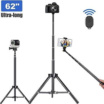 Mando a distancia inalámbrico bluetooth palo extensible para Selfie Montaje de trípode soporte iPhone X XS