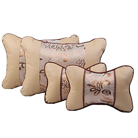 Almohada lumbar Equipo de almohada para el cojín del asiento ...