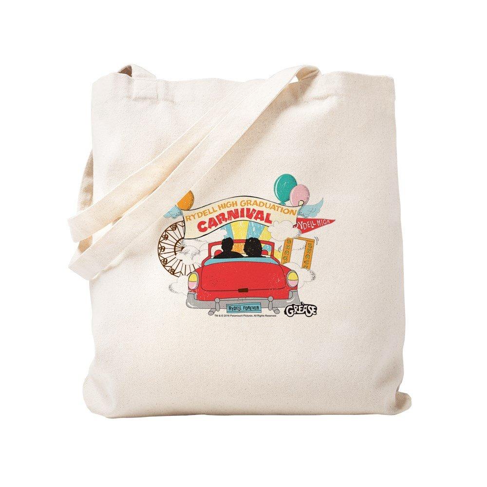 CafePress – グリース – カーニバル – ナチュラルキャンバストートバッグ、布ショッピングバッグ S ベージュ 1788595294DECC2 B0773TYR2D S