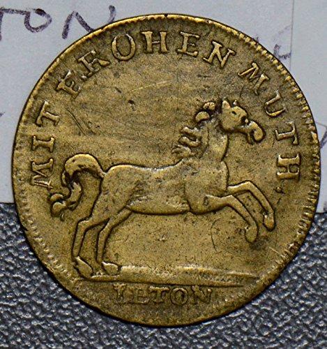 1800 DE R0122 Germany Jeton ~99 russland russia Kaiser Nicolaus horse animal DE PO-01