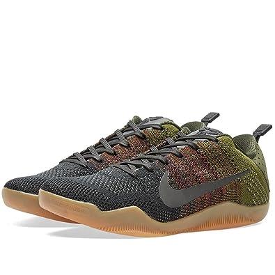 sale retailer 55a47 9cfed Nike Men s Kobe XI Elite Low 4KB, BLACK HORSE-BLACK TEAM RED-