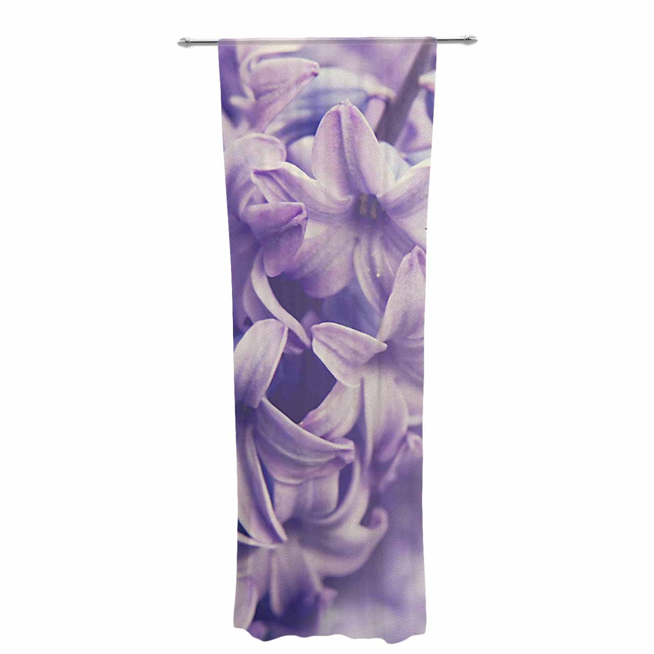 30 x 84 Sheer Curtains Kess InHouse Angie Turner Lavender Dreams Purple Lilac Decorative Set