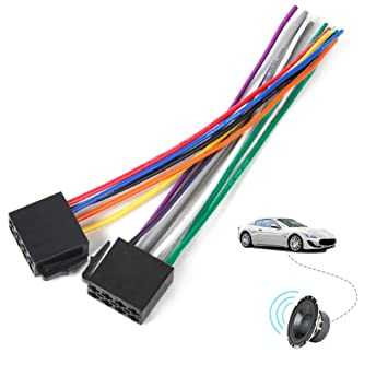 Universal ISO Standard Wire Harness Adapter Connector ... on drag car wiring kits, painless wiring kits, car suspension kits, car lights kits, car frame kits, car gauge kits,