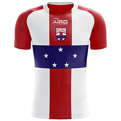 d329eca2c Image Unavailable. Image not available for. Color: Airo Sportswear 2018-2019  Netherlands Antilles Home ...