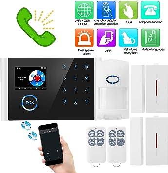 Haus Alarmanlage Wireless Alarmsystem GSM SMS Home Sicherheit APP Fernbedienung