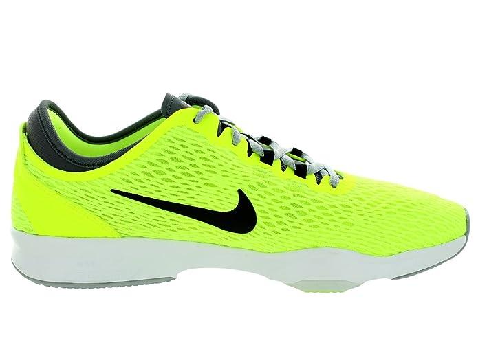 Wmns Nike Zoom Forme, Chaussures Sport Femmes, Jaune (volt / Noir Gris Foncé Blanc), 39 Eu