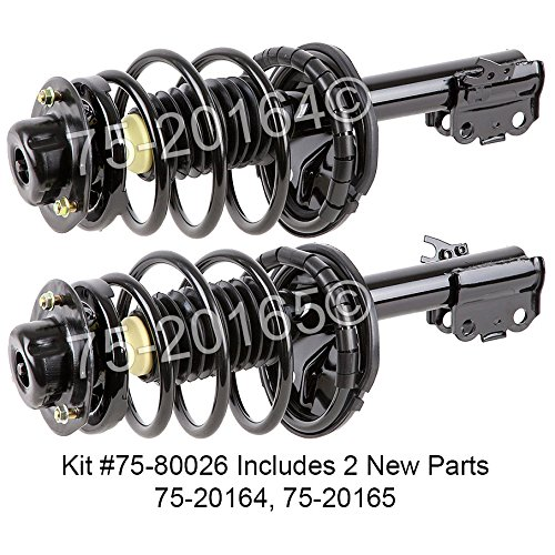 Pair Brand New Complete Front Left Right Strut Shock Coil Spring Assembly Buyautoparts 75 800262c New
