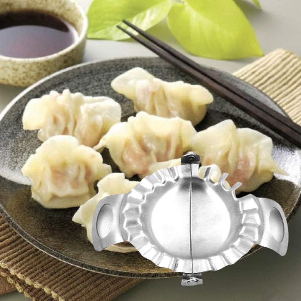zhiwenCZW Stainless Steel Dumpling Machine Cuts Maker for Ravioli Pasta Wrappers Mold Pot Sticker Kitchen Accessories