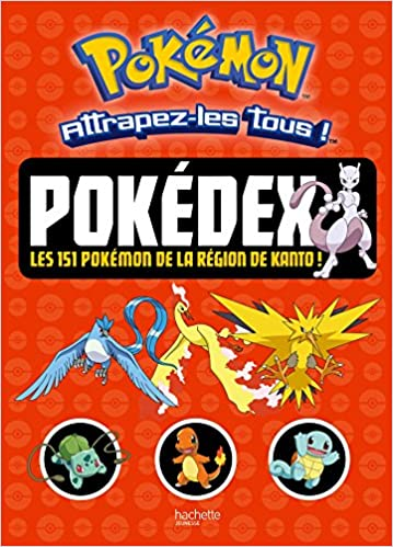 Amazon Fr Pokemon Pokedex Les 151 Pokemon De La Region