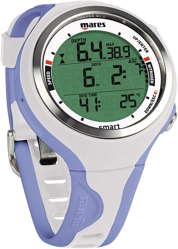 Mares Smart Wrist Dive Computer, 白い/Lilac