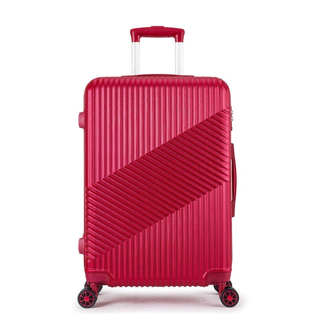 旅行用品荷物スーツケーストロリーケース プレミアム回転ツイルプルロッドボックスユニバーサルホイールABS + PCトラベルボックス20インチ22インチ24インチ B07S6LD9YX