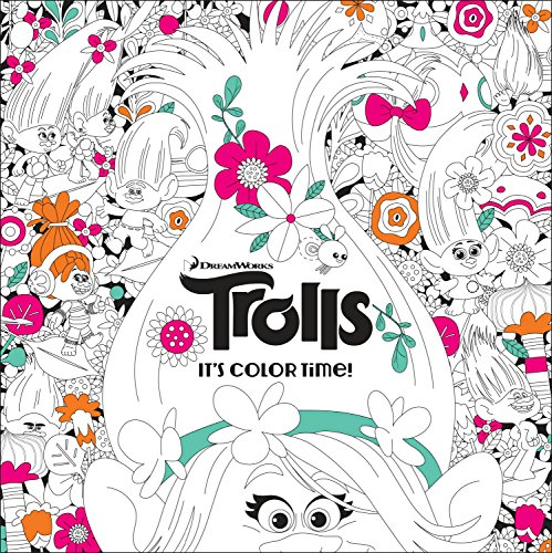 It's Color Time! (DreamWorks Trolls) (Adult Coloring Book) -