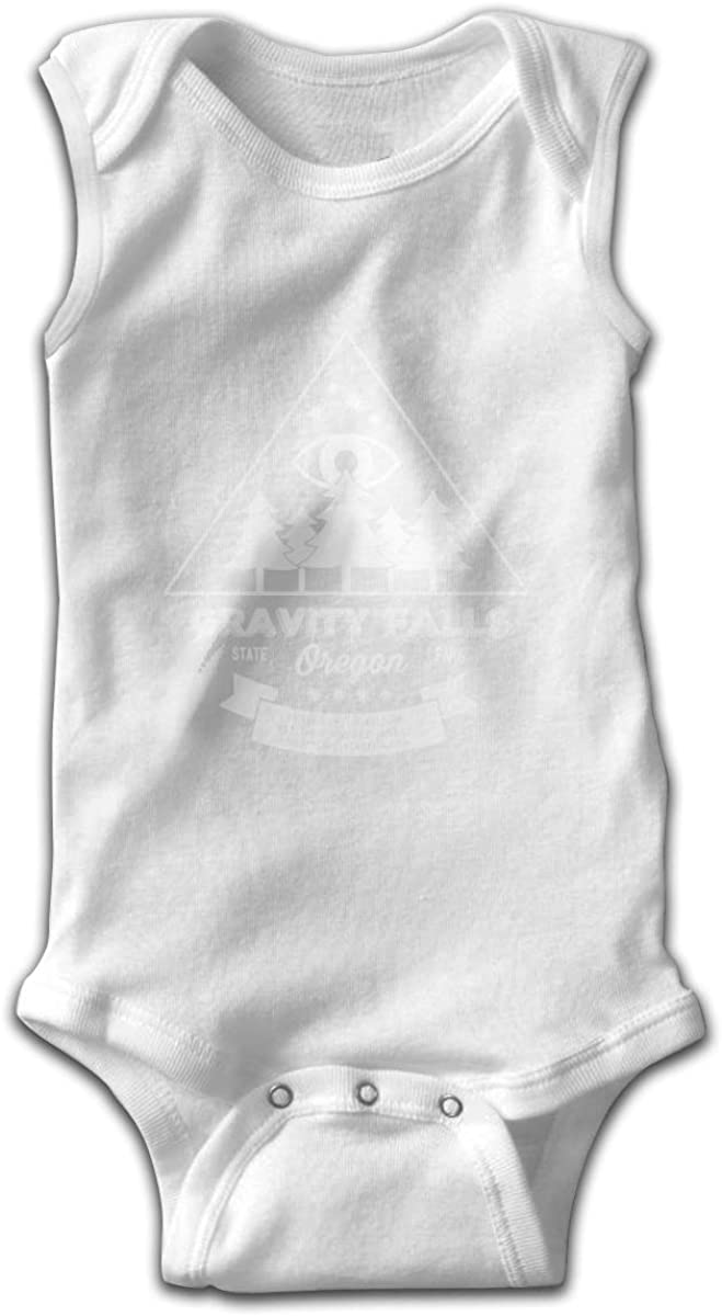 Visit Gravity Falls Baby Short Sleeve Bodysuits Cotton Toddler Onesies