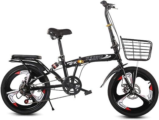 YCHSG Plegable Cambio de Bicicleta Bicicleta Plegable de 20 ...