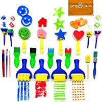 Cre8tivePick kids art & craft 21 pieces of fun painting...