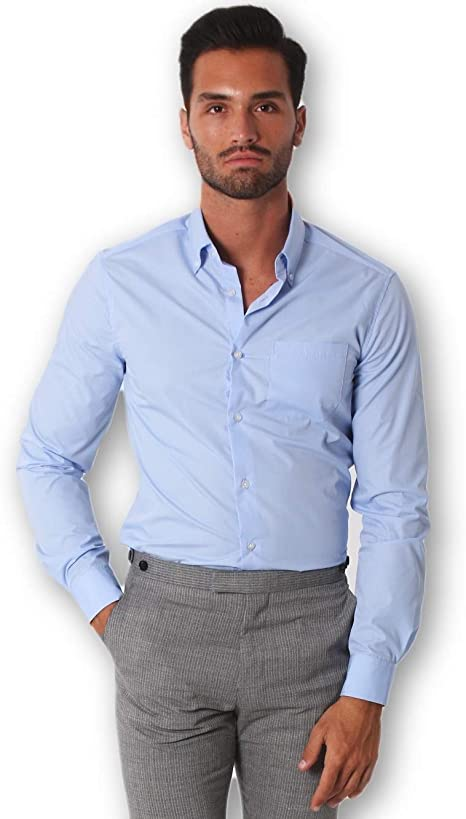 The Fit - Camisa de vestir - para hombre: Amazon.es: Ropa y accesorios