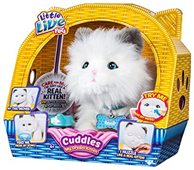 Little Live Pets Cuddles My Dream Kitten from Moose Toys Import