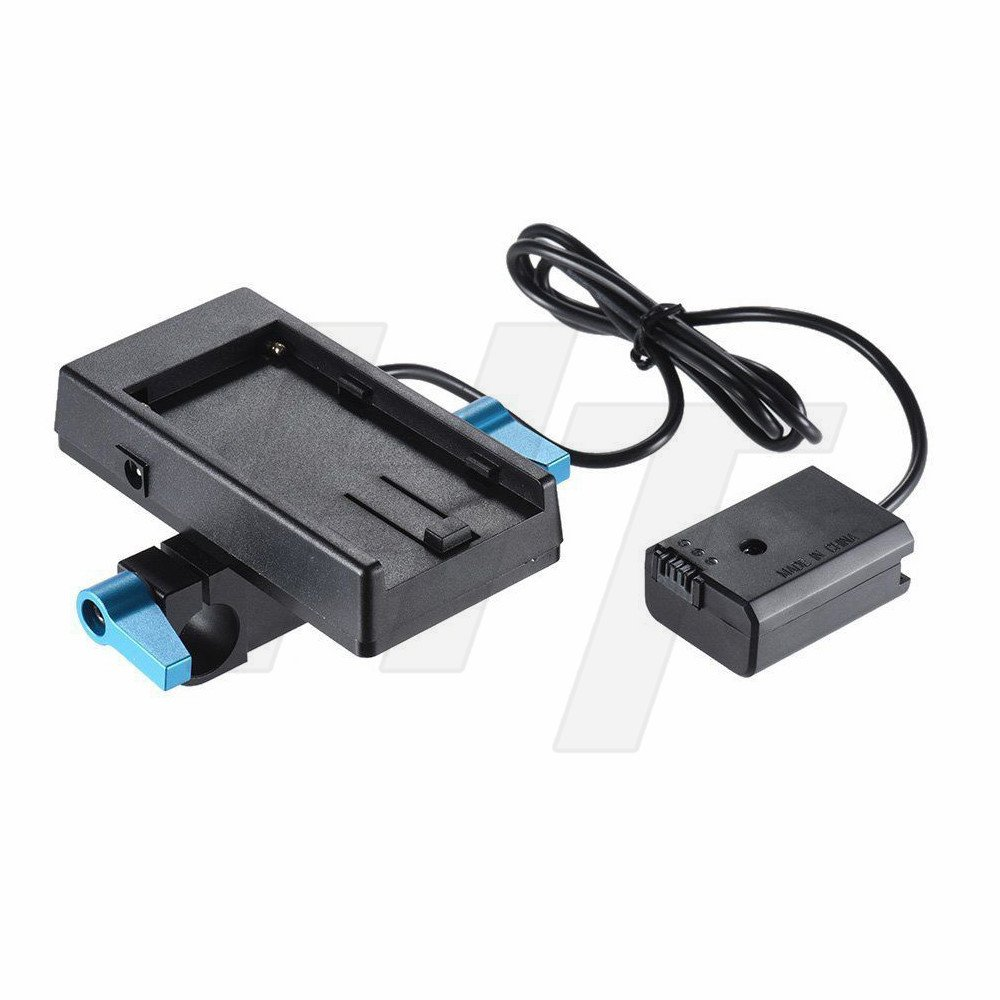 HangTon NP-F970 Battery Mount Plate Transfer NP-FW50 Adapter for Sony A7S2 A7M2 6300 6500(with hot Shoe) HangTon Connect