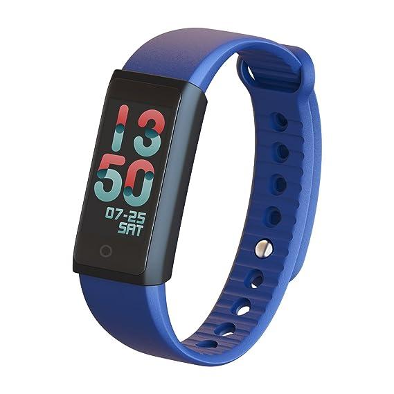 Curren R03 Smart Reloj Fitness Tracker, impermeable Smart Pulsera, frecuencia cardíaca/presión arterial