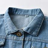 Baby Boys Girls Denim Jacket Kids Toddler Button