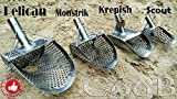 Sand Scoop for metal detecting Shovel Stainless Steel Hunting Detector Tool by CooB (Scout V1)