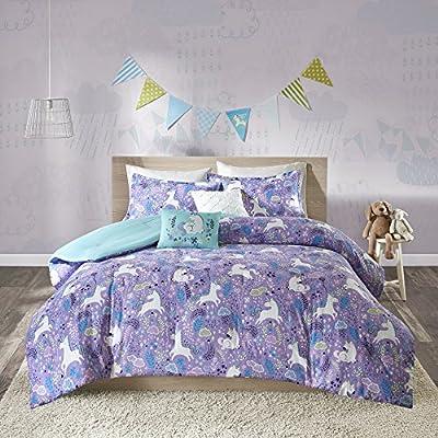 Urban Habitat Kids Lola Comforter Set, Twin, Purple: Home & Kitchen