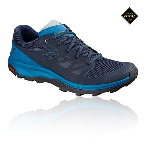 SALOMON Outline GTX Marino Celeste L40619100: Amazon.es: Zapatos y complementos