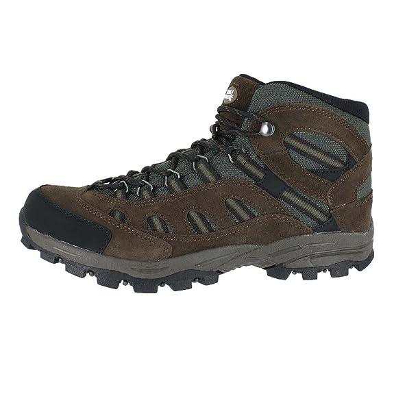 Hiking Mens Banff Mid Hiking Boot Brown Black Size 10.5