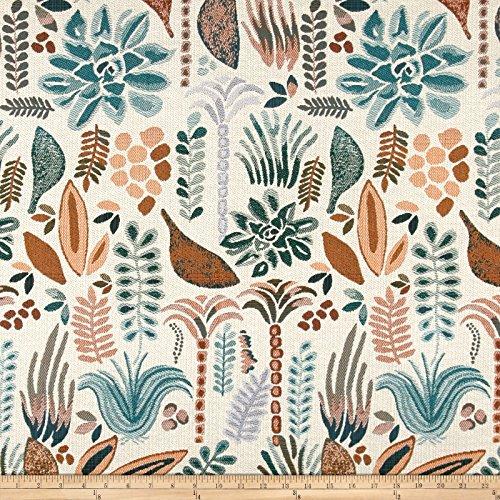 Justina Blakeney Rainforest Jacquard Original Fabric by The Yard, Multi from Justina Blakeney