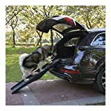 PawHut 60'' Folding Pet Ramps Dog Ramp Truck SUV Stairs Portable Travel Steps Stairs